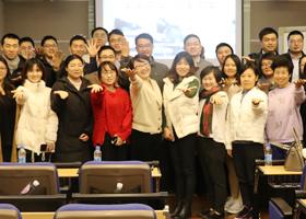 "<div style=""text-align:center;""> Smile社群营销走进上海市科创 </div>"
